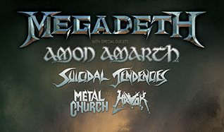 Megadeth tickets at City National Civic in San Jose