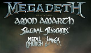 Megadeth tickets at Prudential Center in Newark