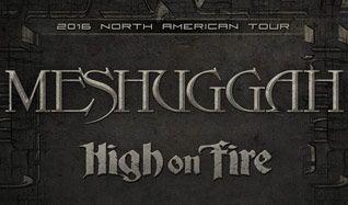 Meshuggah tickets at Ogden Theatre in Denver