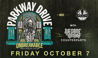 Parkway Drive tickets at Starland Ballroom in Sayreville