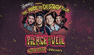 Pierce The Veil tickets at The Warfield in San Francisco