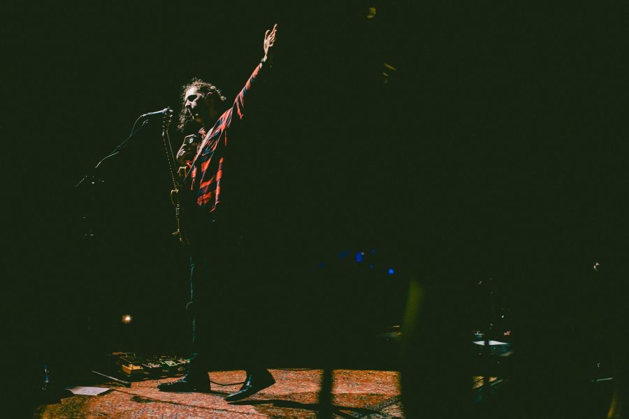 Hozier performs live in the Volkswagen Arena in Istanbul on March 3, 2016.