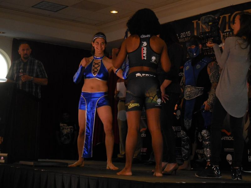 Roxanne Modafferi had some odd encounters with fans at the UFC Fan Expo