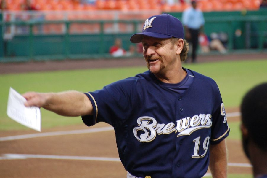 Robin Yount was a three-time All-Star shortstop for the Brewers in his younger days.