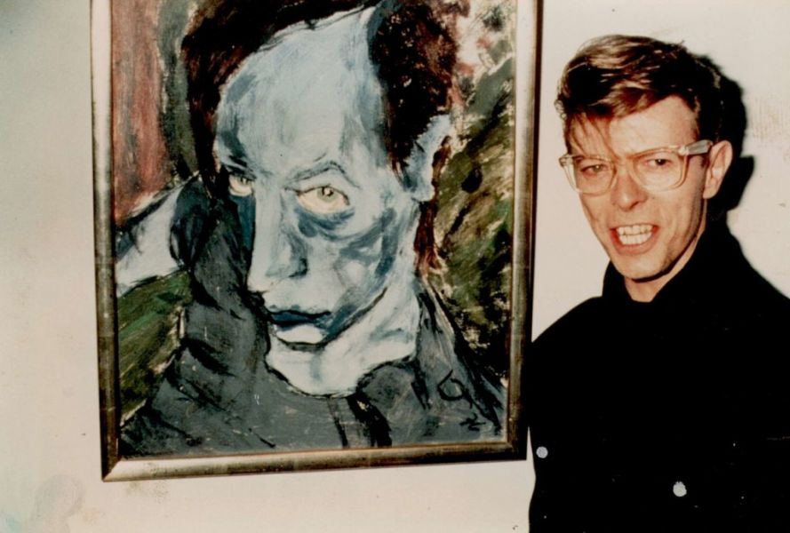 David Bowie's impressive art collection will go on auction on Nov. 10