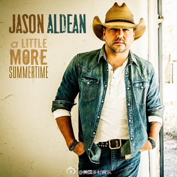 "Jason Aldean drops new single ""A Little More Summertime"" from his new album 'They Don't Know.'"