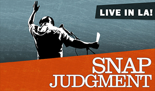 SNAP Judgment tickets at The Theatre at Ace Hotel in Los Angeles