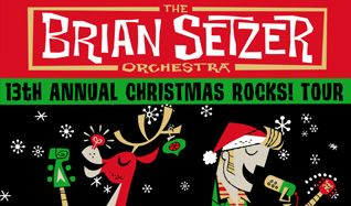 The Brian Setzer Orchestra tickets at The Warfield, San Francisco