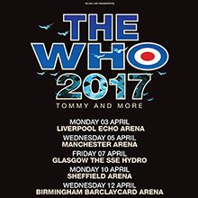 The Who tickets at Manchester Arena, Manchester