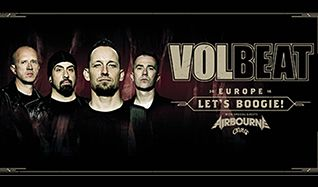 Volbeat tickets at Ericsson Globe in Stockholm