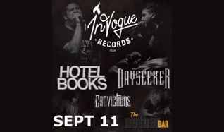 With Hotel Books, Dayseeker, and Convictions tickets at Mill City Nights in Minneapolis