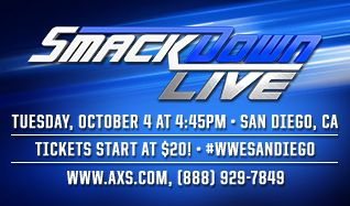 WWE Smackdown tickets at Valley View Casino Center in San Diego