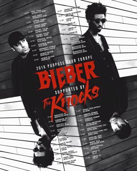 The Knocks / Justin Bieber Purpose Tour (European Leg)