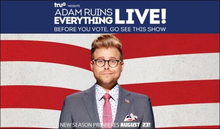 Adam Conover to ruin everything in a city near you during 'Adam Ruins Everything Live!' tour
