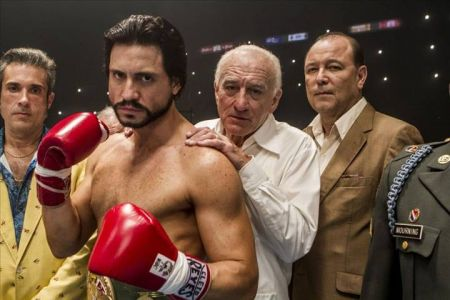 Movie review: 'Hands of Stone' pulls no punches
