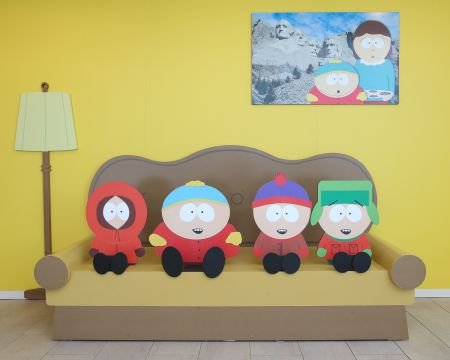 """The South Park 20 Experience"" runs at The Paley Center for Media in Beverly Hills from Aug. 24 until Sep. 25"