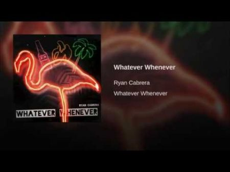 Listen: Ryan Cabrera returns with summer-inspired single 'Whatever Whenever'