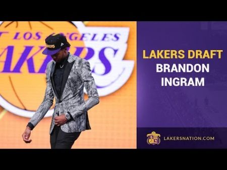 Lakers officially sign rookie forward Brandon Ingram