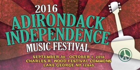 The logo for the 2016Adirondack Independence Music Festival.