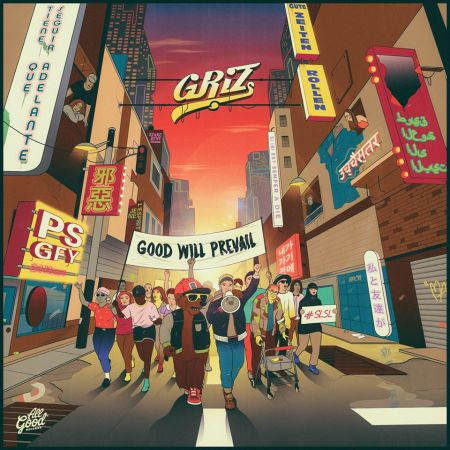GRiZ announces new album Good Will Prevail which drops Sept. 23.