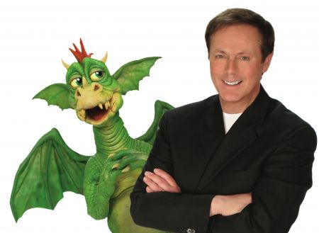 Comedy-ventriloquist Ronn Lucas (pictured here with Scorch the Teenaged Dragon) performs at Suncoast Hotel & Casino Aug. 26 and 27