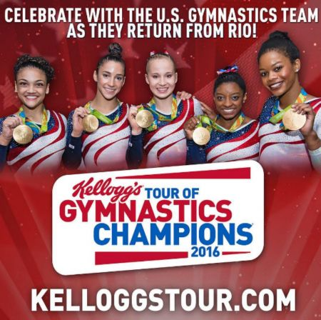 Here's your chance to see the 2016 US women's gymnastics team live
