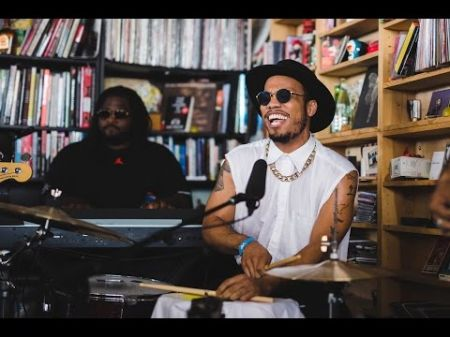 Watch: Anderson .Paak & The Free Nationals deliver a smooth performance on NPR's 'Tiny Desk Concert'
