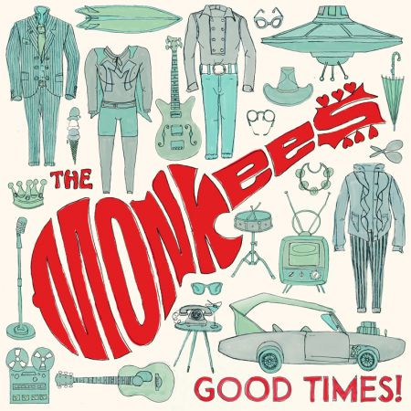 "The cover of the Monkees' ""Good Times!"" album."