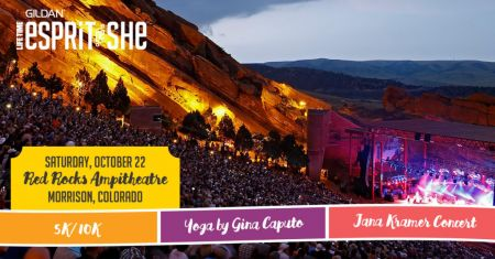 On October 22, 2016 Red Rocks will be celebrating women and fitness.