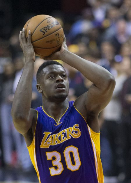 Power forward Julius Randle of the Los Angeles Lakers.