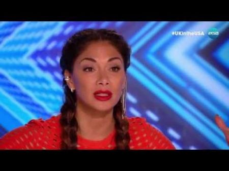'The X Factor UK': Nicole Scherzinger has an unexpected reaction to Finnish singer's audition