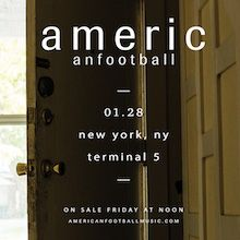 American Football tickets at Terminal 5 in New York