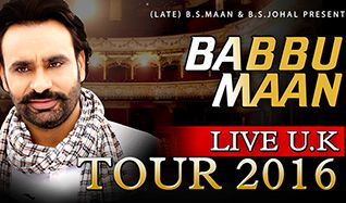Babbu Maan tickets at Eventim Apollo in London