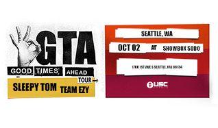 GTA tickets at Showbox SoDo in Seattle