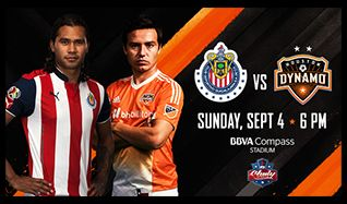Chivas de Guadalajara vs Houston Dynamo tickets at BBVA Compass Stadium in Houston