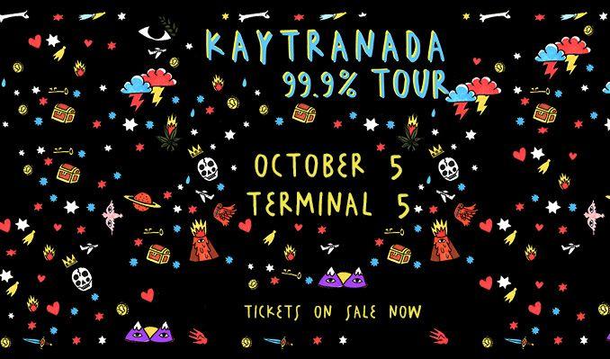 Kaytranada tickets at Terminal 5 in New York