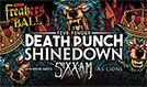 KEGL Freakers' Ball featuring Five Finger Death Punch, Shinedown tickets at Verizon Theatre at Grand Prairie in Grand Prairie