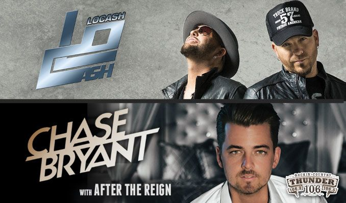 LOCASH & Chase Bryant tickets at Starland Ballroom in Sayreville