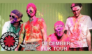 Red Hot Chili Peppers tickets at The O2 in London
