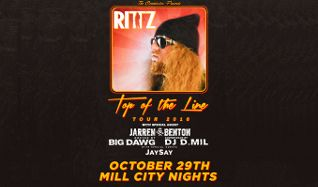 Rittz tickets at Mill City Nights in Minneapolis