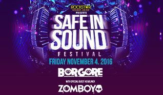 Safe In Sound Festival: Borgore / Zomboy tickets at 1STBANK Center in Broomfield