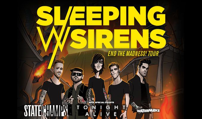 Sleeping With Sirens tickets at Starland Ballroom in Sayreville