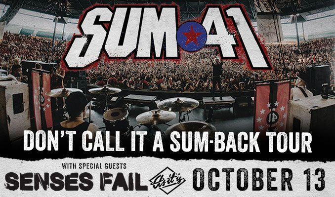 Sum 41 tickets at Starland Ballroom in Sayreville