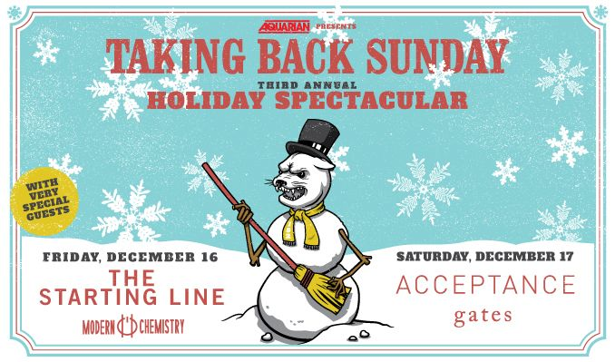 Taking Back Sunday tickets at Starland Ballroom in Sayreville