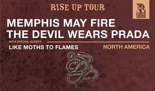 The Devil Wears Prada / Memphis May Fire tickets at Ogden Theatre in Denver