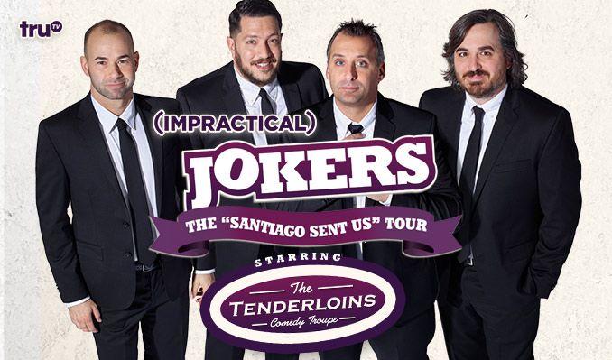 Impractical jokers tour dates m4hsunfo