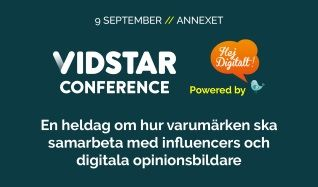 Vidstar Conference tickets at Ericsson Globe in Stockholm