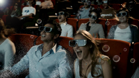 4DX theaters providean experience unlike anything you've had before