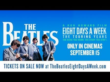 Beatles-Ron Howard film playing second week at a few theaters in Canada