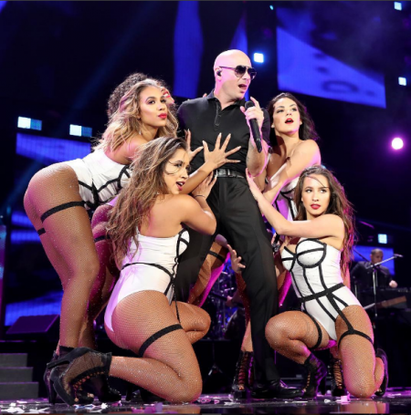 Pitbull is just one of the amazing acts that performed on night two of iHeart Music Festival.